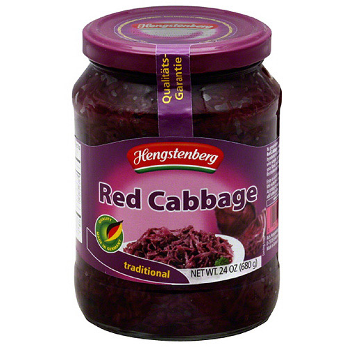 Hengstenberg Traditional Red Cabbage, 24 oz, (Pack of 6)