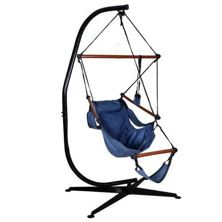 Freeport Park Algrenon Solid C Frame Steel Hammock Chair Stand