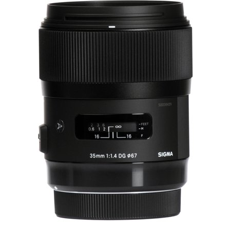 Sigma 35mm f/1.4 DG HSM ART Lens for Nikon F (Sigma 35mm 1-4 Vs Nikon 35mm 1-4)