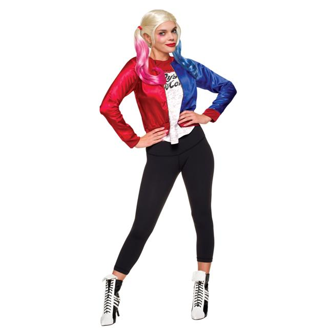 Morris Costumes RU820078MD Suicide Squad Harley Quinn Adult Kit Costume, Medium
