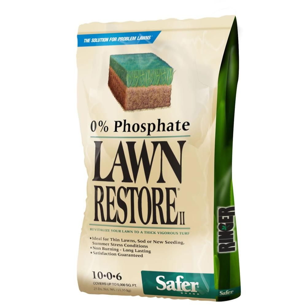 Safer Brand Ringer 25 lb. Lawn Restore II Fertilizer
