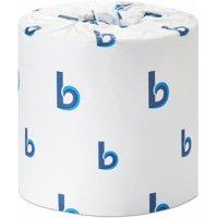Boardwalk Office Packs Standard Bathroom Tissue, 2-Ply, White, 350 Sheets RL,