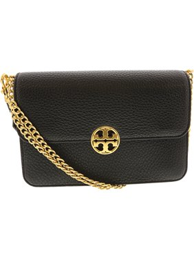 a1cb662506a5 Product Image Tory Burch Women s Chelsea Leather Shoulder Bag - Black