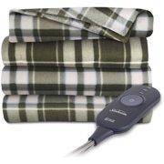 Sunbeam Electric Heated Fleece Warming Throw Blanket - Assorted Colors