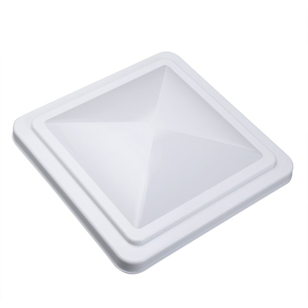 14 X 14 White Universal Replacement Rv Roof Vent Cover Vent Lid For Camper Trailer Motorhome Walmart Com Walmart Com