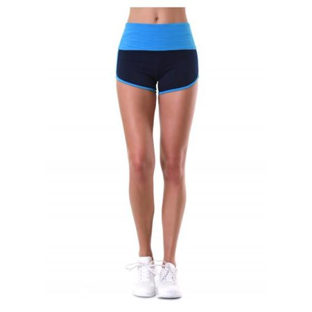 a6762b370 Uni Hosiery - Ladies Two-Tone Dolphin Shorts - Walmart.com