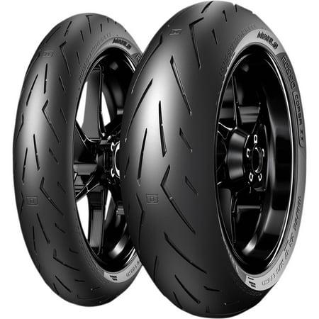 Pirelli 2906900 Diablo Rosso Corsa II Front Tire - (Pirelli Diablo Rosso 2 190 50 Zr17)