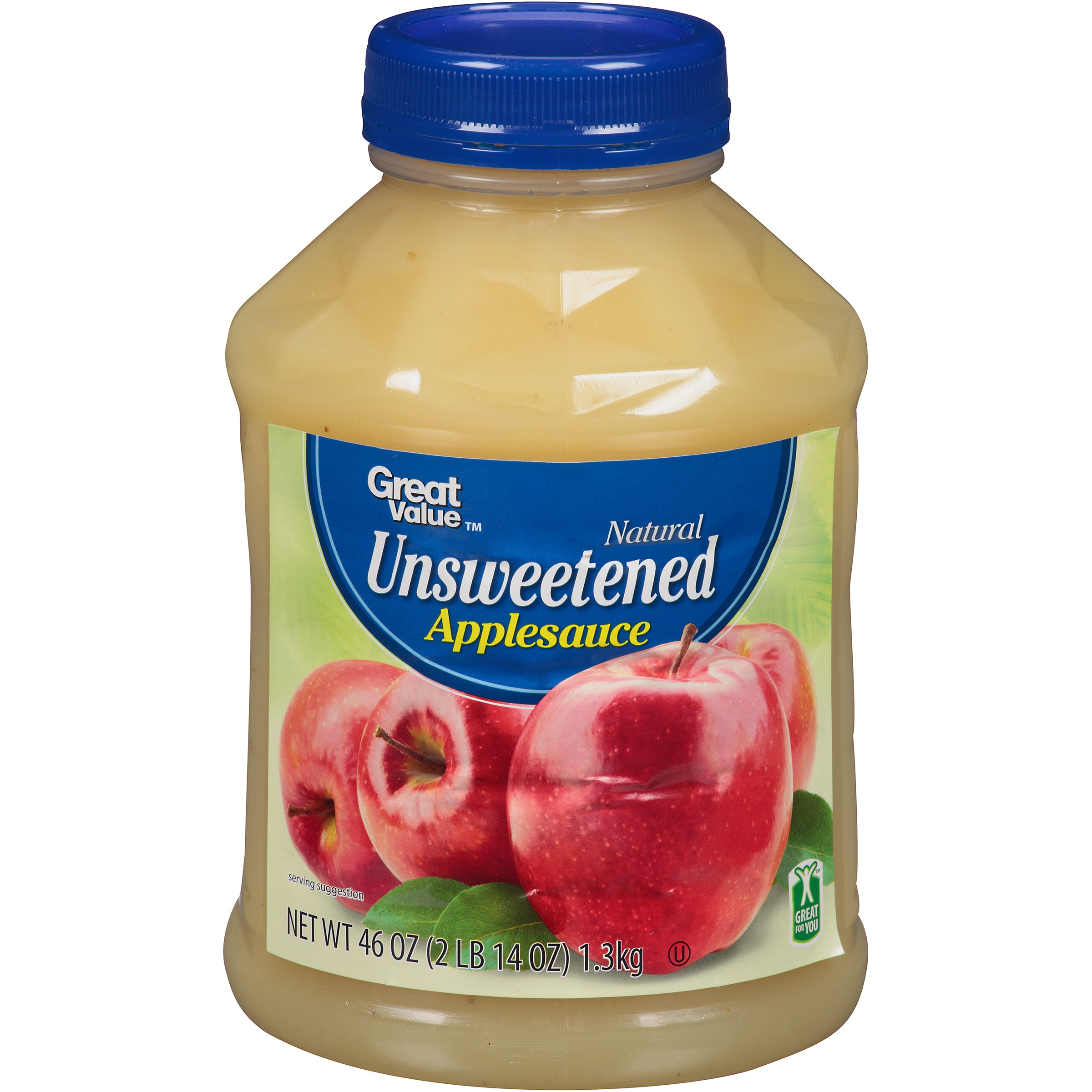 Great Value Unsweetened Applesauce, 46 oz by Walmart Stores, Inc