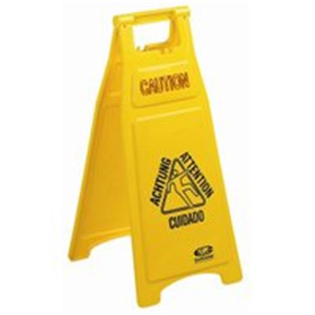 Continental Commercial 119 Caution Floor Sign 2 Sided