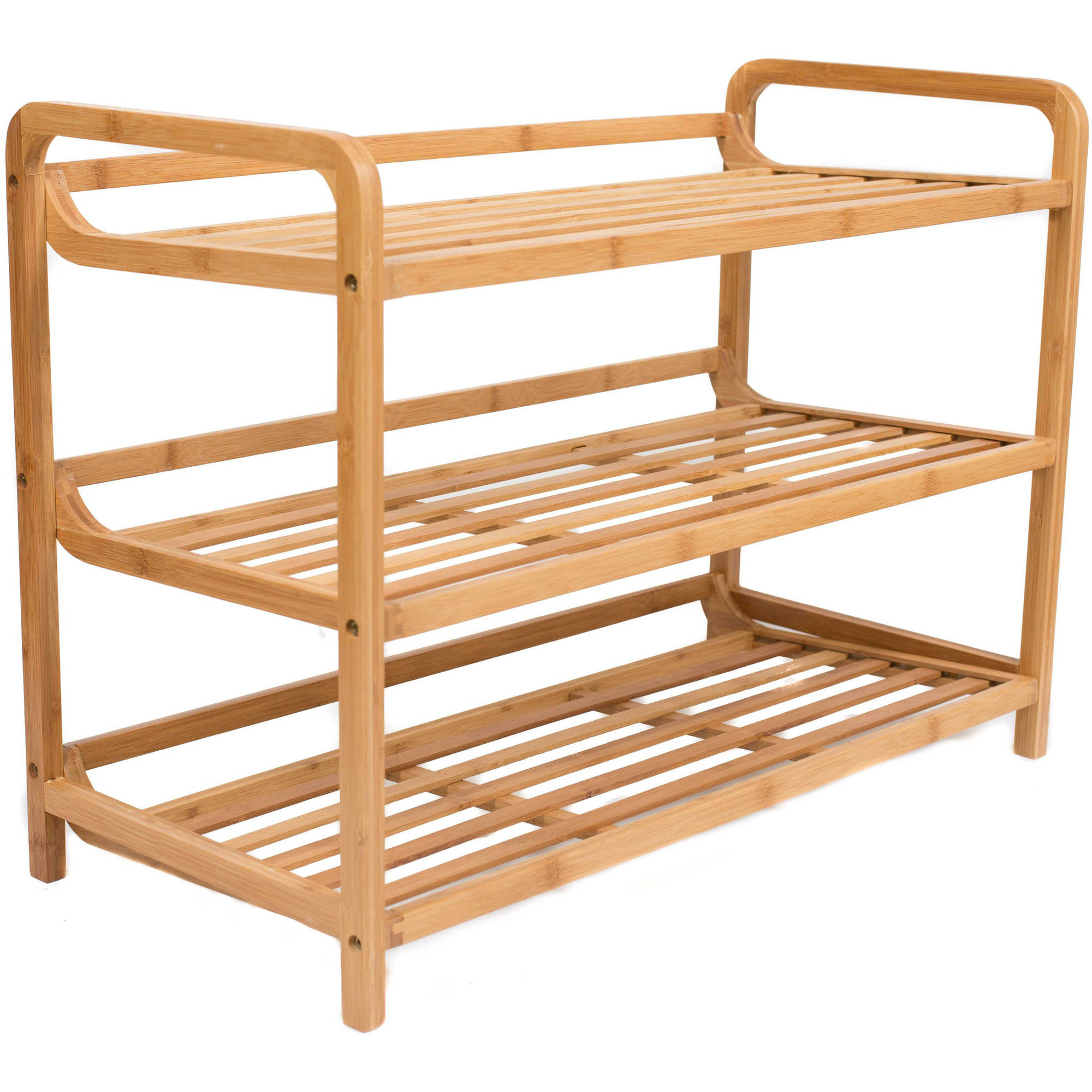 BirdRock Home 4-Tier Shoe Rack