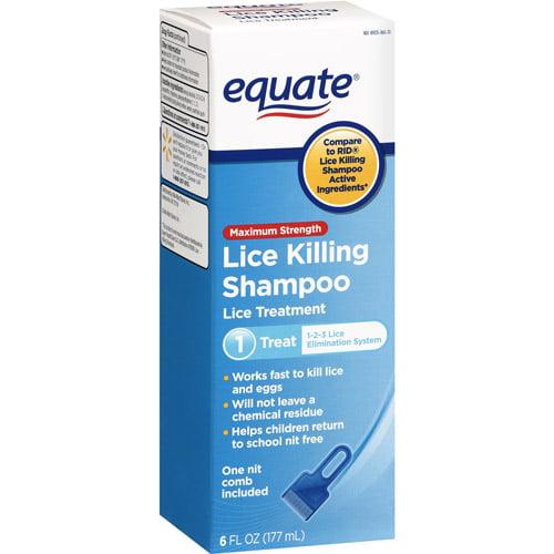 Equate Lice Shampoo Equate Treatment Lice Killing Shampoo 6