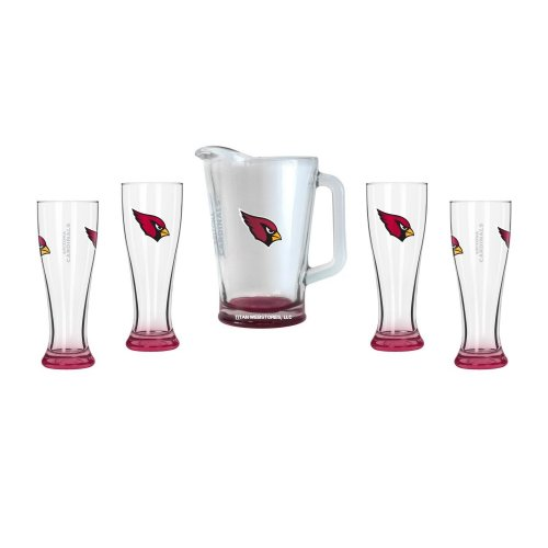 Arizona Cardinals Glassware Gift Set by