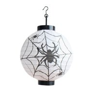 1 PC Halloween Party Decorations Paper Spider Ghost Bats Lantern