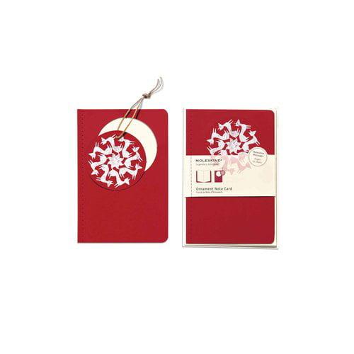 Moleskine Ornament Note Cards - Foxtrot: Large