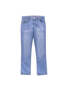 The Children's Place Girls Heathered Skinny Fit Jeans, Blue, 6X/7