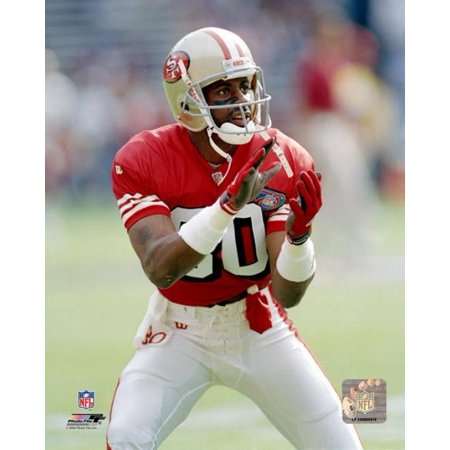 Jerry Rice Action Photo Print (Jerry Rice Photograph)