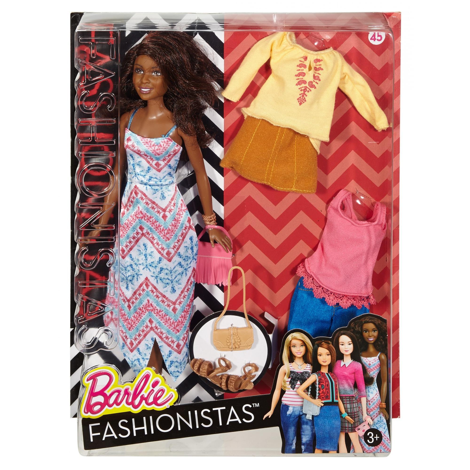 Barbie Fashionistas Doll & Fashions, Boho Fringe by MATTEL INC.