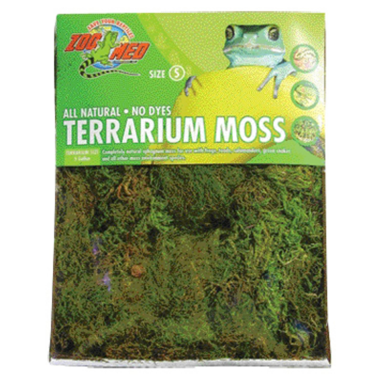 Zoo Med All Natural Reptile Terrarium Moss Extra Large by Zoo Med