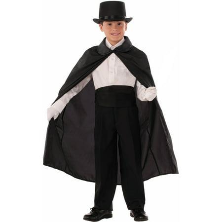 Child's Viva Las Vegas Abracadabra Magicians Cape Costume Accessory