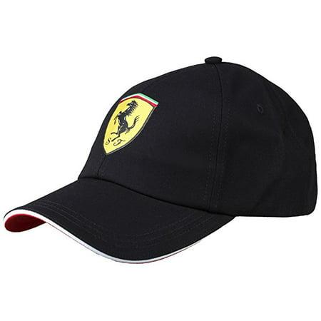 Ferrari Black Kid's Classic Hat (Wer Hat Ferrari)