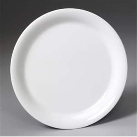 Gessner Products DW75R1PKIWI 7.5 in. Round Melamine Plate - Kiwi- Case of