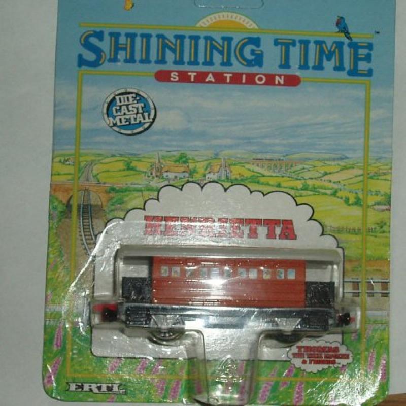 Ertl Shining Time Station Henrietta Die Cast Train, Thoma...