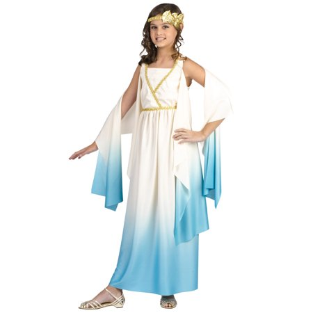 Child GREEK GODDESS Costume  8-10 years