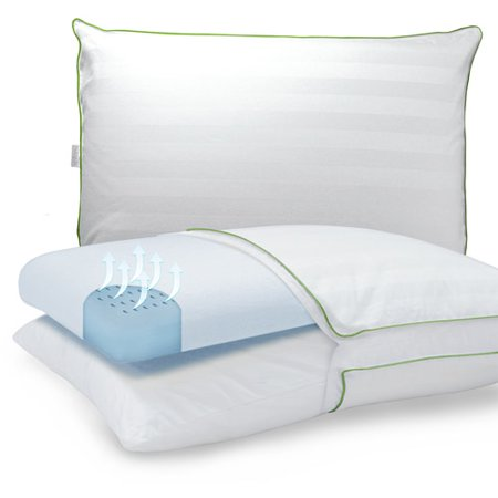 - Duo Comfort Supreme Gusseted Bed Pillow