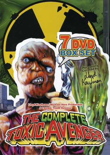 Complete Toxic Avenger Box Set [DVD] by TROMA