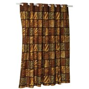 """EZ-ON? """"Wild Encounters"""" Polyester Shower Curtain"""