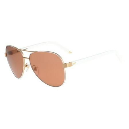 1b708faeac DVF - Sunglasses Diane von Furstenberg DVF 828 S BRANDY 105 WHITE ...