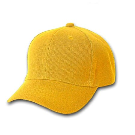 25a8d94b287 Plain Unisex Baseball Cap - Blank Hat with Solid Color   Adjustable for Men    Women - Max Comfort (24 Units