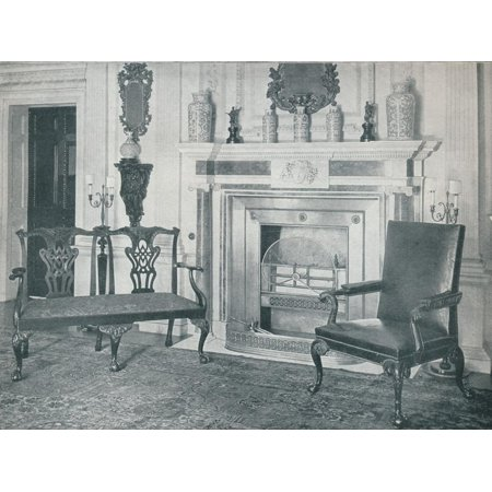 'Chippendale Settee and Chair', 1910 Print Wall Art By Thomas Chippendale