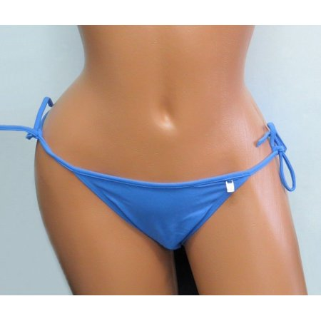 NEW FREYA BY FOOTPRINTS BLUE STRING BOTTOM SEXY SIDE TIES SWIMWEAR/SWIM - Side Tie G String