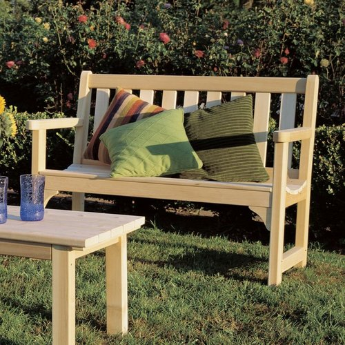 Rustic Natural Cedar 0500506 Cedar Looks English Garden Settee
