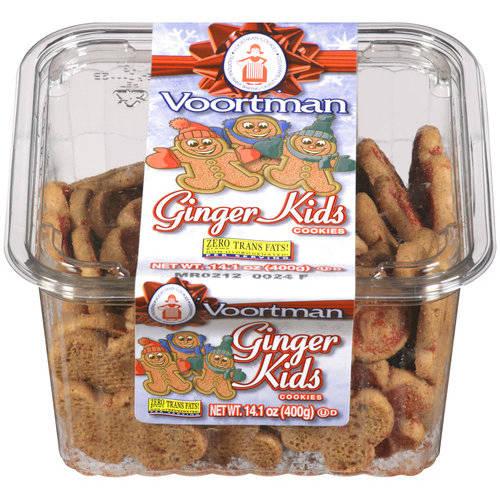 Voortman Ginger Kids Cookies, 14.1 OZ