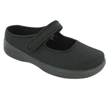 white stag  women's casual mary jane slipon shoe wide