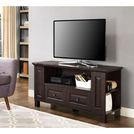 44-inch Espresso Wood TV Stand Storage Console ()