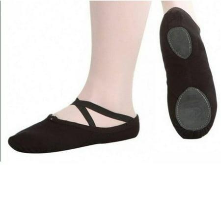 Child & Adult Canvas Ballet Dance Shoe Slippers Ballet Pointe Toe Dance Shoes Professional Gymnastics Adult Children ()