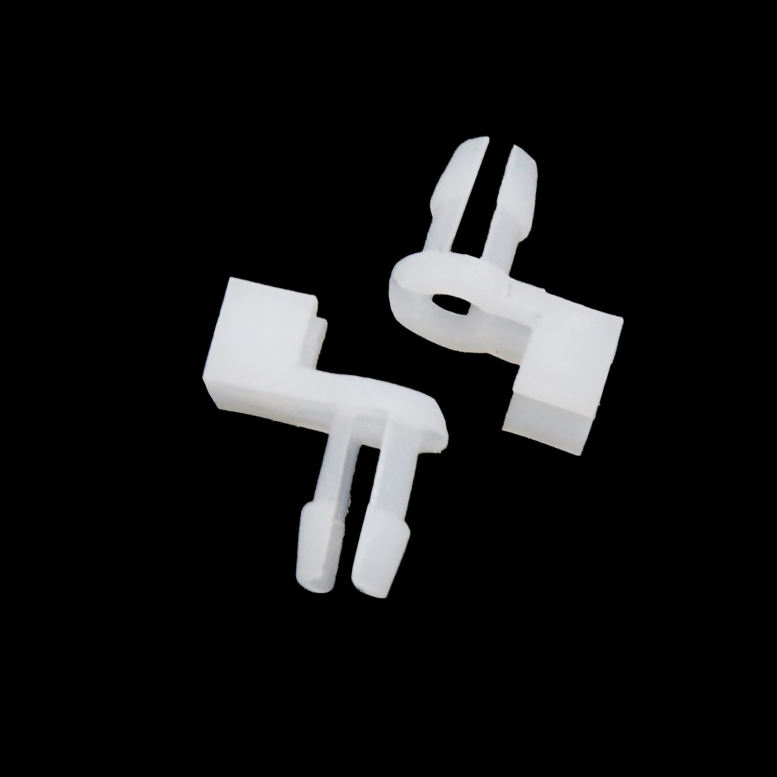 50Pcs Plastic Rivets Fastener Clips Engine Lining Retainer White 5mm for Car - image 2 de 3