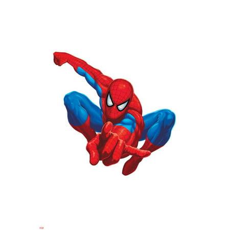 Spider Sense Spider-Man: Valentine, Spider-Man Posing Poster Wall Art