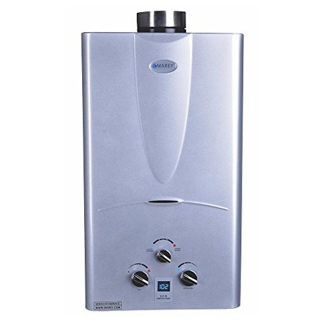 marey power gas 10l 2.7 gpm natural gas digital panel tankless water