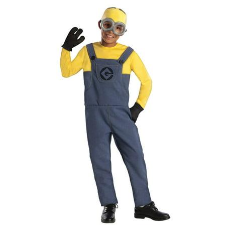Despicable Me 2 Minion Dave Costume Child