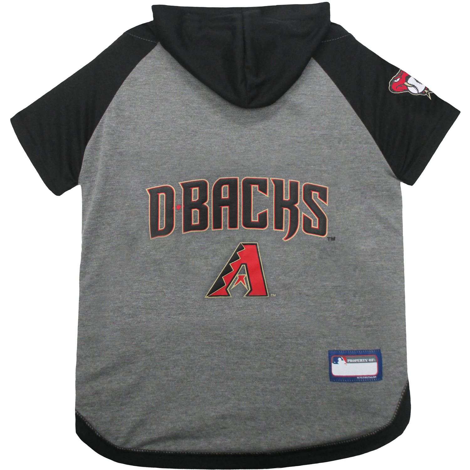 Pets First MLB Arizona Diamondbacks Hoodie Tee Shirt