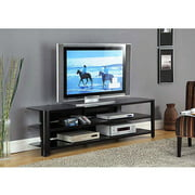 Innovex Oxford Black TV Stand for TVs up to 65""