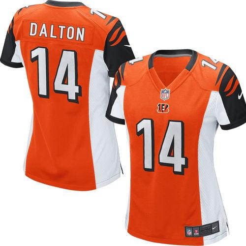 Andy Dalton Cincinnati Bengals Nike Women's Game Jersey - Orange