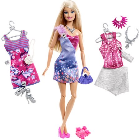 Barbie Fashionista Wardrobe Doll, Barbie