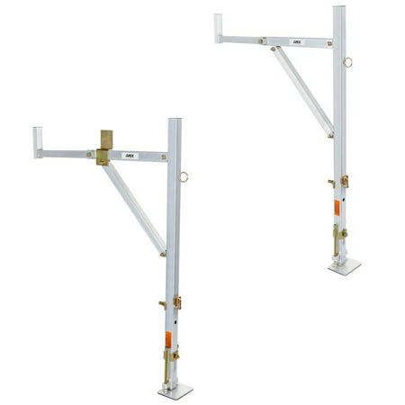 Apex NDALR Universal Aluminum No-Drill Ladder Rack ()