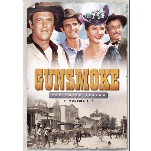 GUNSMOKE-SEASON 3 V01 (DVD) (3DISCS)