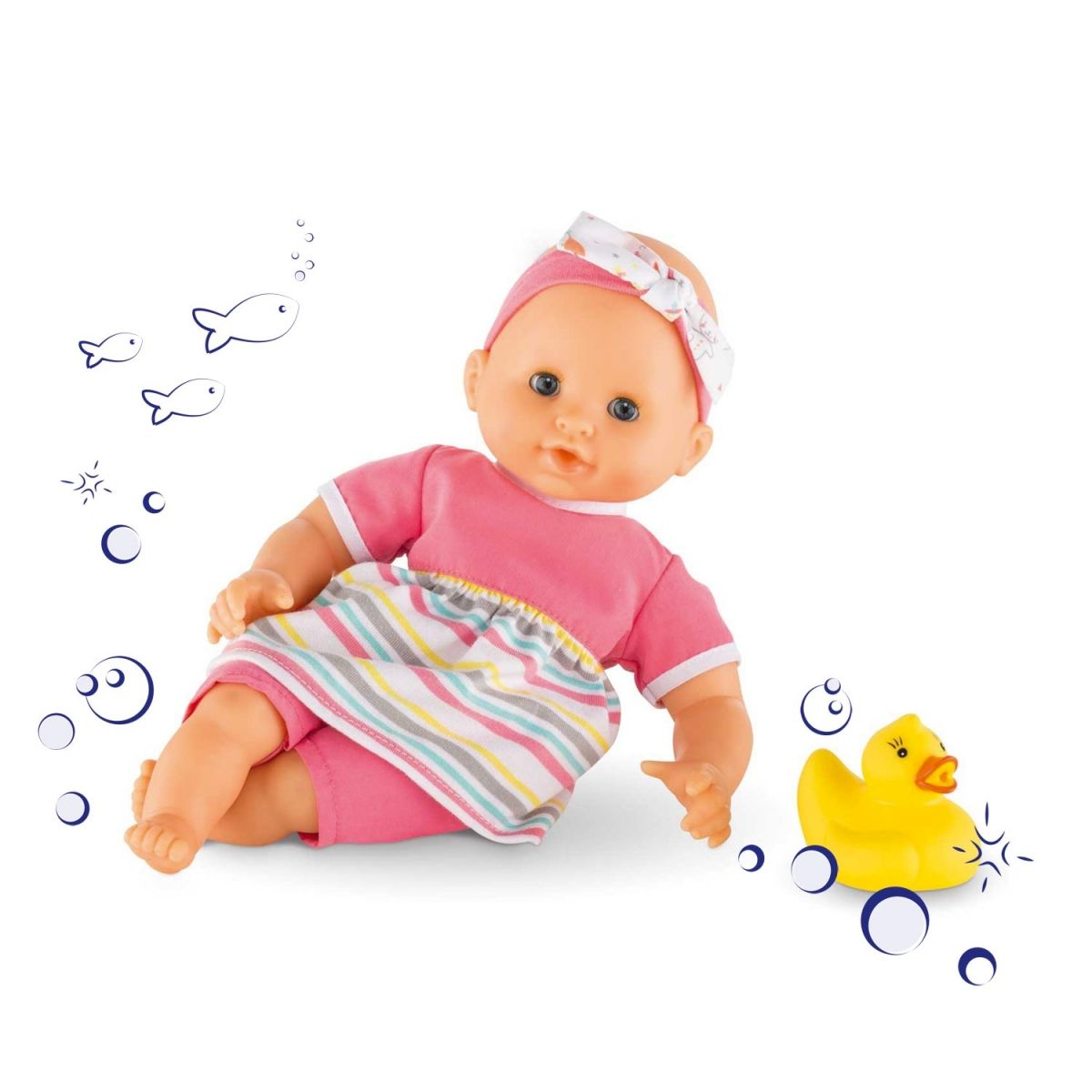 Corolle Mon Premier Bath Girl Baby Doll #DMN17